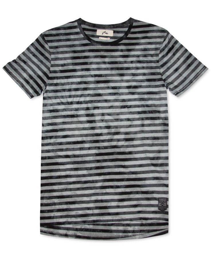 Rusty Laters Tie-Dye Striped T-Shirt