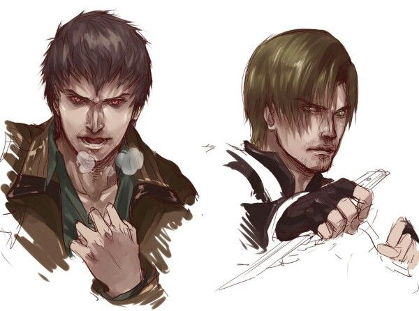 Resident Evil Damnation Buddy and Leon