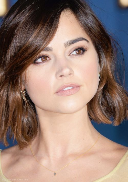 My hair is very similar to this texture and is fairly thick. I really need a cut... Maybe this would be a good option :)