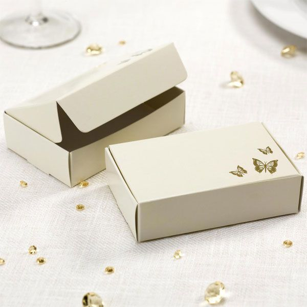 10 Cake Slice Boxes Wedding Party Favours Contemporary Vintage Choose Design Ebay Wedding Cake Boxes Butterfly Cakes Gold Wedding Cake