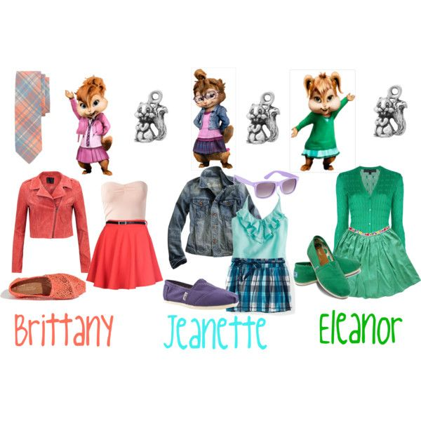 """""""The Chipettes"""" by skaterpeace12 on Polyvore"""