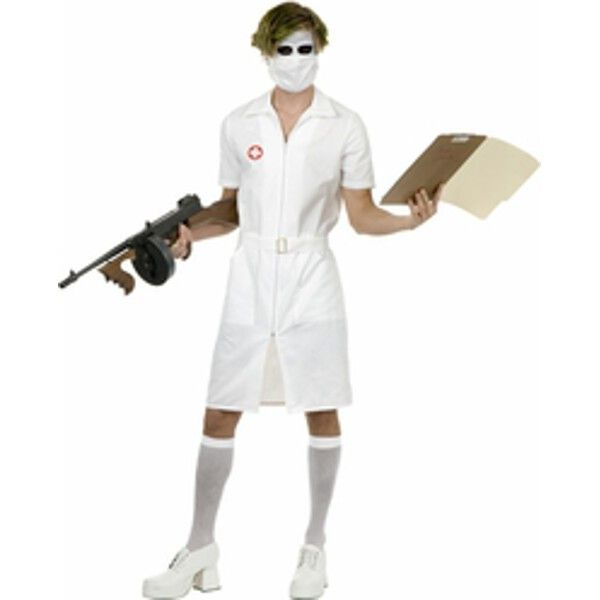Adult Joker Nurse Costume