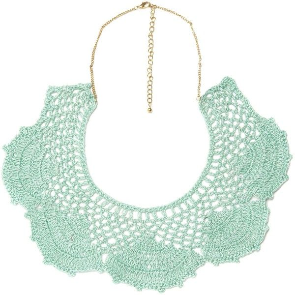 Therapy Crochet collar