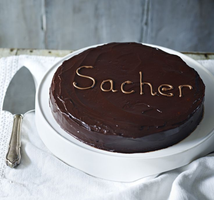 Mary Berry's Sachertorte apparently improves if left a day or two before cutting – but who could manage that?