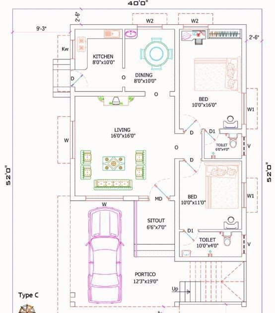 1200 Sq Ft House Plans India House Front Elevation Design