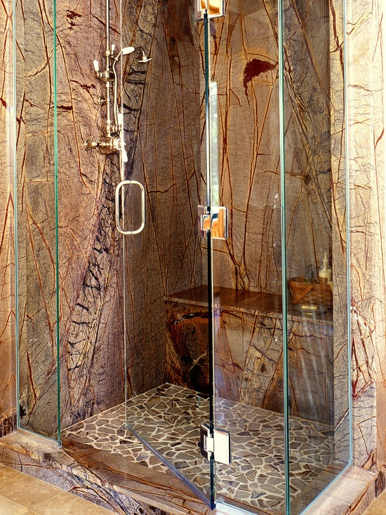 Marble Slab Shower Design, Pictures, Remodel, Decor And Ideas. Stone  ShowerLuxury ...
