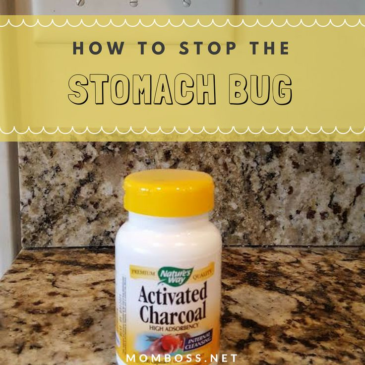Stop Stomach Bugs With Activated Charcoal