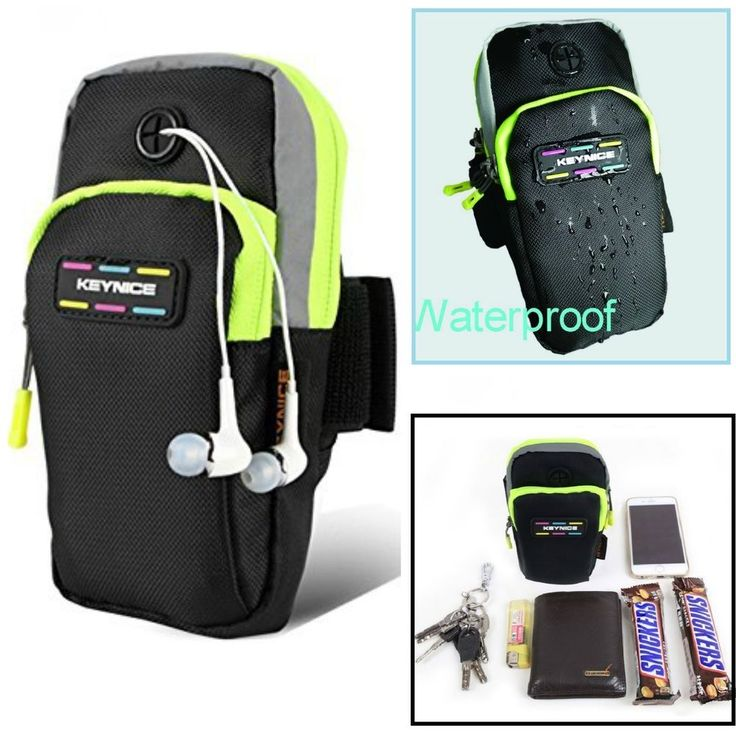 Sports Armband Cell Phone Bag Keynice Multifunctional Pockets Workout Running  #Keynice