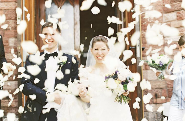 Terrific Petal Toss Shot! From SMP Destination Weddings | Photography: Alicia Swedenborg | http://www.stylemepretty.com/destination-weddings/2013/11/18/stockholm-wedding-from-alicia-swedenborg-photography