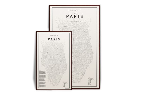 Olsson Gerthel Paris map