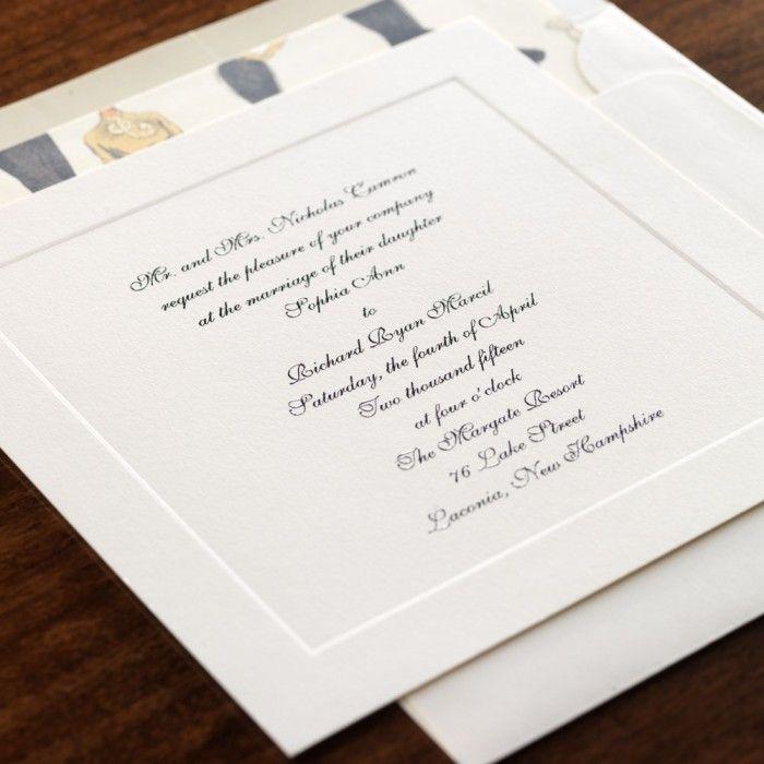 watch wedding invitation movie online eng sub%0A Personalized Rich and Sophia Ivory Wedding Invitation   eInvite com