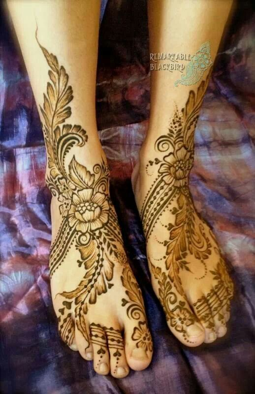 Mehndi Henna On Hair : Best images about hair and beauty henna for feet