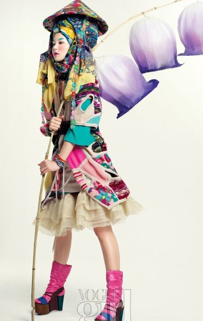 Tiding of Spring – Vogue Girl Korea