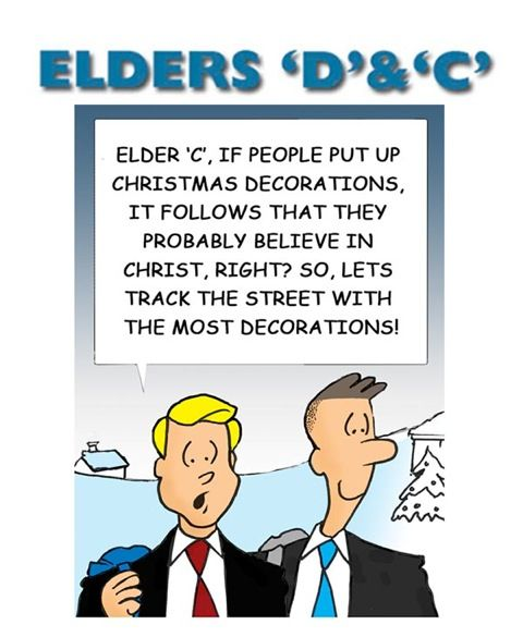 109 Best Christmas Lds Images On Pinterest: Elders D & C By William Fortune