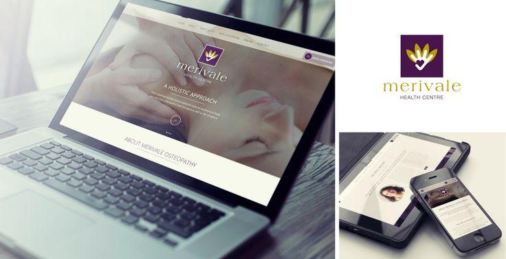 Merivale Osteopathy single page scrolling website