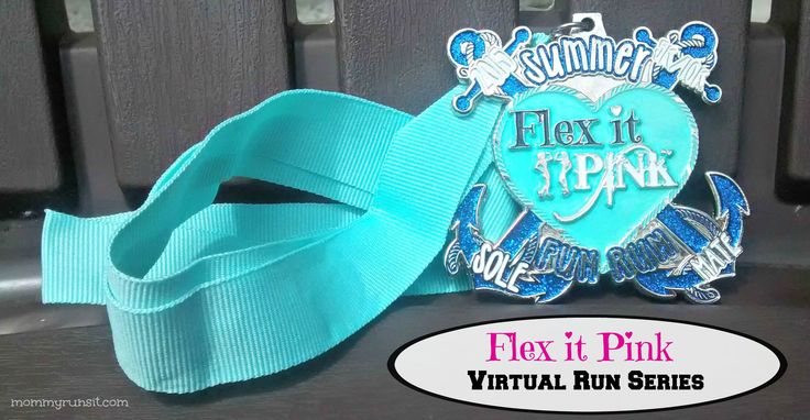 Flex It Pink is a community for women, by women. Check out their virtual race series! | Mommy Runs It #running
