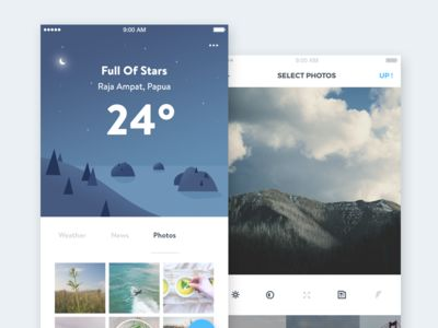 Weather App Concept part 2