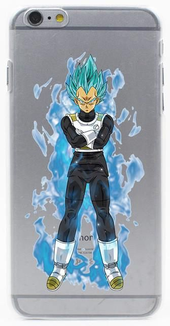 Dragon Ball Z super sayan Hard Transparent Case Cover for iPhone 7 7 plus 4 4s 5 5s 5c SE 6 6s Plus case cover