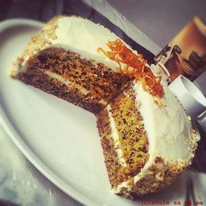 Boule za ušima: Mrkvový dort s mascarpone