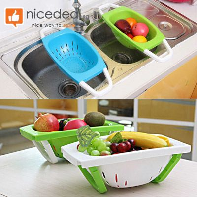 [S$4.50](▼35%)Draining Basket / 4 Colors Available Great for Washing Fruits…