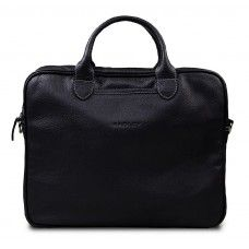 Camp Black - это мужская сумка созданная для людей, которые не любят носить с собой много вещей. Ноутбук и папка документов, это минимальный набор необходимый любому деловому человеку. Функциональный минимализм отражен и в дизайне сумки – простые на первый взгляд формы, локаничные ручки и металлическая молния. Практичный, достаточно стильный, удобный и всегда уместный минимализм. Мужская сумка Camp Black подойдет практически под любую одежду, будь это джинсы с майкой или брюки с рубашкой.