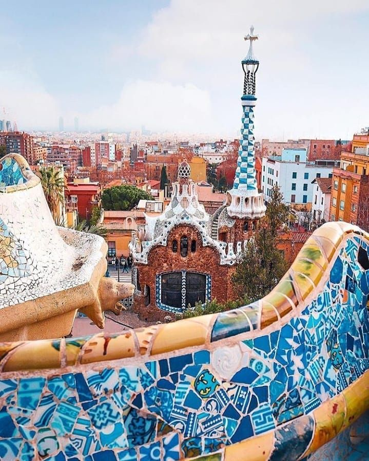 Park Guell On Instagram Photos And Videos Barcelona Travel Park Guell Travel