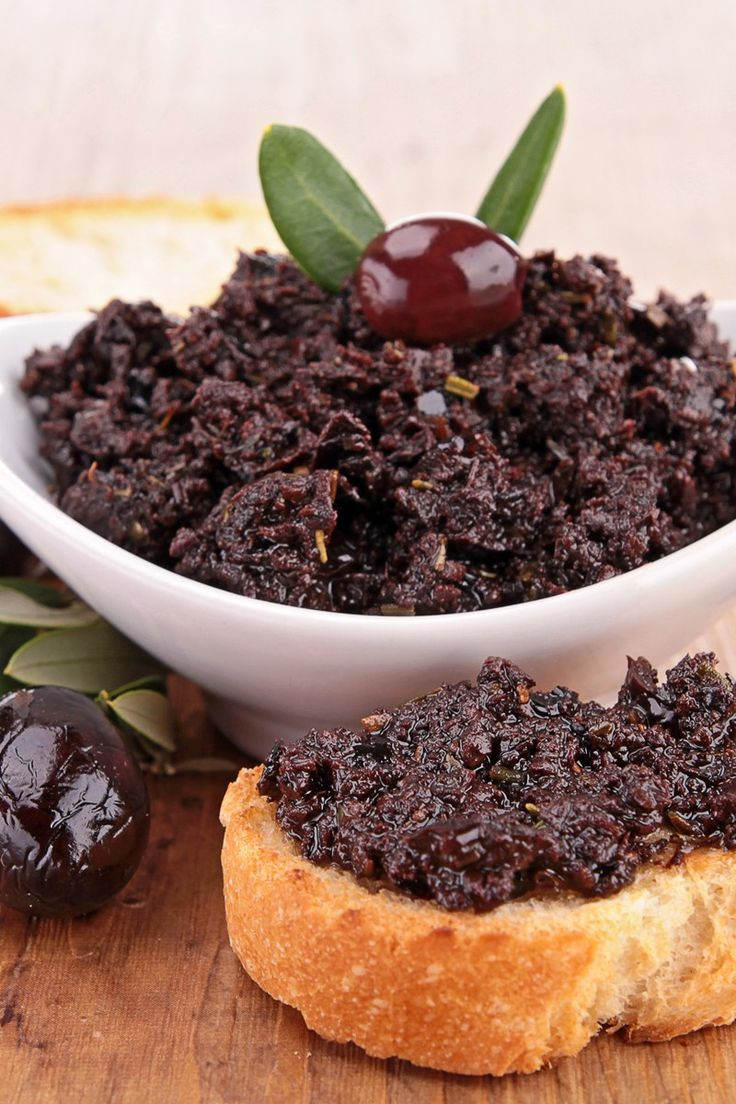 Weight Watchers Kalamata Olive Tapenade Recipe - 3 Smart Points