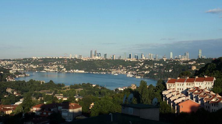 İstanbul da sabah....