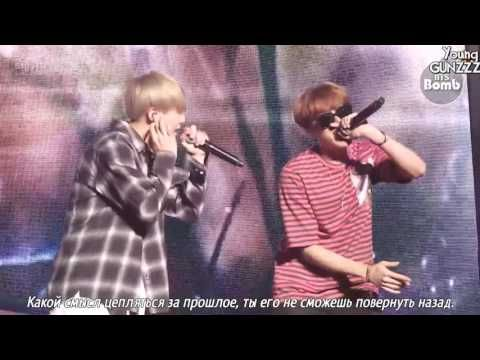 [BANGTAN BOMB] BTS' Vocal Duet 'SOPE-ME' Stage behind the scene (рус.саб) [Young Gunzzz] - YouTube