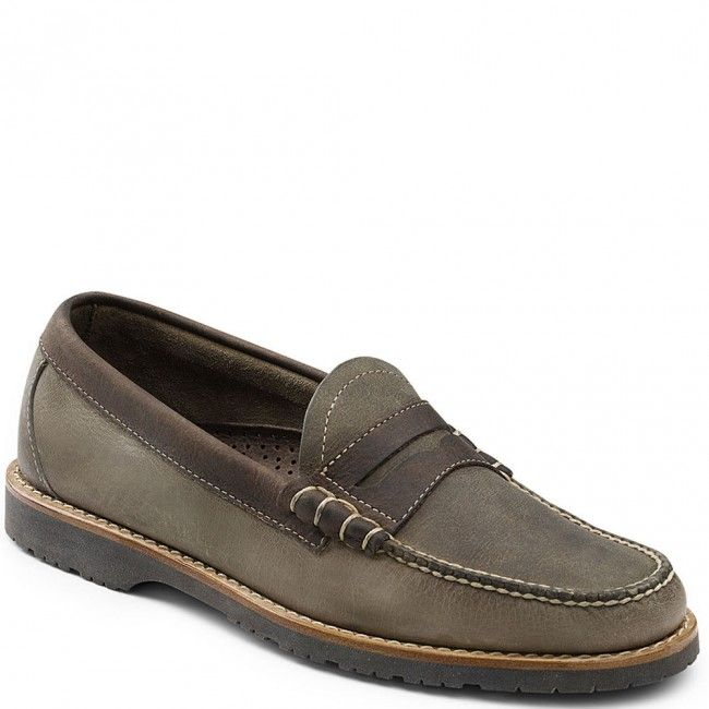 70-80953-280 GH Bass Men's Simon Casual Shoes - Dark Taupe/Dark