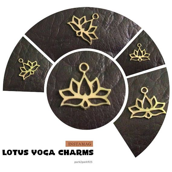 PRODUCT INFO:  Item code: CH557138 Name item: silver Lotus charm 19.5 x 18 mm with jumpring Full Name: 925 sterling silver Lotus charm 19.5 x 18 mm with jumpring available in sterling silver & vermeil Fabrication method: Handmade each item cut individually Style: Lotus Charm Dimension: 19.5 x 18 mm Tightness: 0.90 mm Rings/Loop inside dia.: jumpring 0.75 x 2.5 mm inside dia. Clusters/Balls/Accents: None Approximate weight for 6 pieces: 5.16 gram Country of origin: Indonesia...