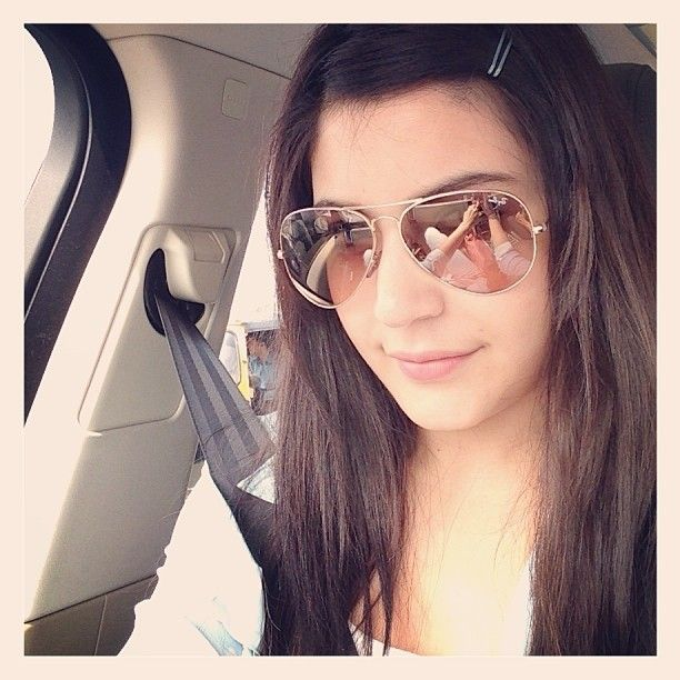 Anushka Sharma Selfie. Pinned under The Celebrity Selfie