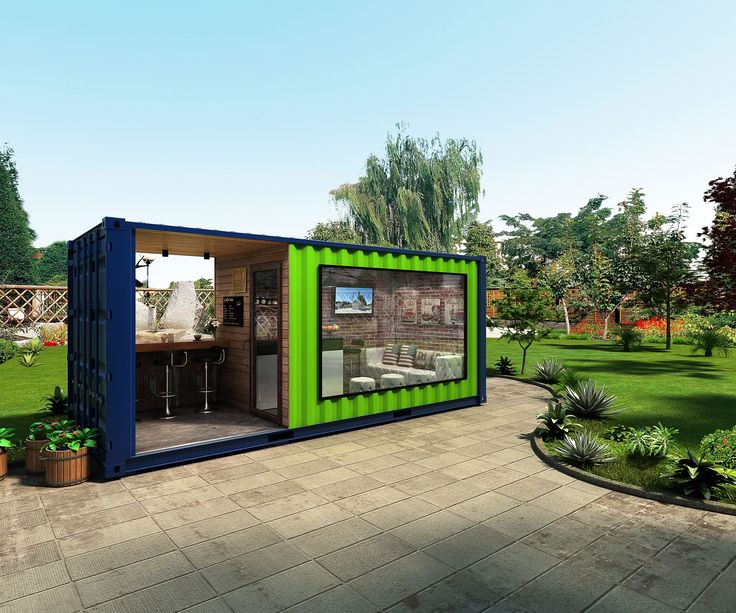 20ft shipping container coffee shop | Pop-Up container coffee bar | Container restaurant | Shipping container homes | Container house