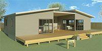 Trenz Kitset Homes New Zealand - 3 Bedroom