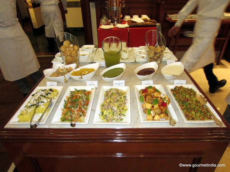 Wedding Food Ideas Get Creative I Do Knot: Oberoi Chaat Stations