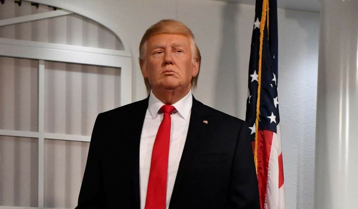 """Madame Tussauds new Trump wax work backs out of inauguration -- Madame Tussauds have declined to exhibit their new Trump wax work at the impending inauguration on Friday. Simon Wick, a spokesman for Tussauds said; """"Its nothing to do with Trump's politics, this particular waxwork is fragile, for some reason it starts to melt in the event of an... -- #Trump -- https://goo.gl/tBx5zm"""