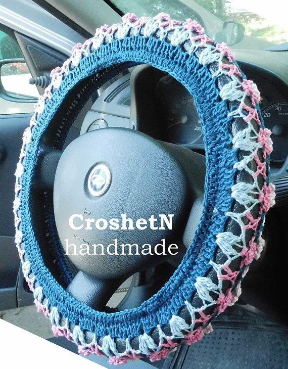 Car Accessories Car Gifts Crochet Wheel Cover Car Decor Wheel