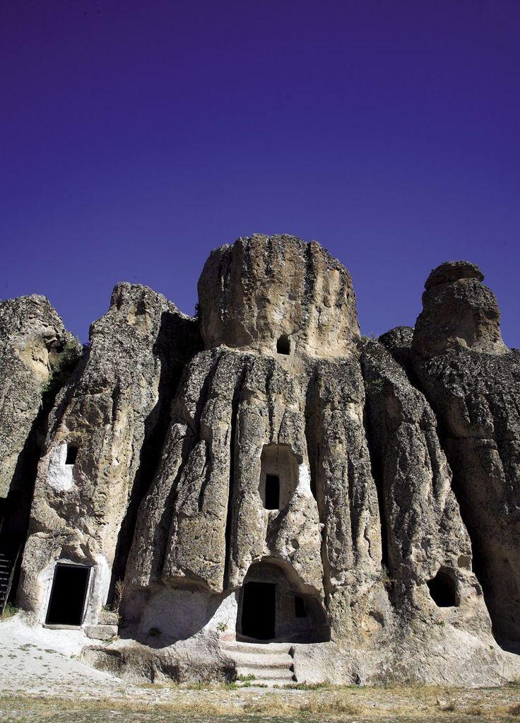 Kilistra Ancient city. Konya - TURKEY.