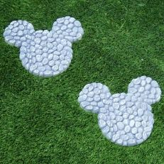 """10"""" Wide Disney's Mickey Mouse Stepping Stones"""