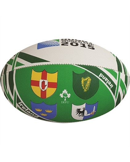 Rugby World Cup 2015 IRELAND country collection - Ireland Flag Ball size 5