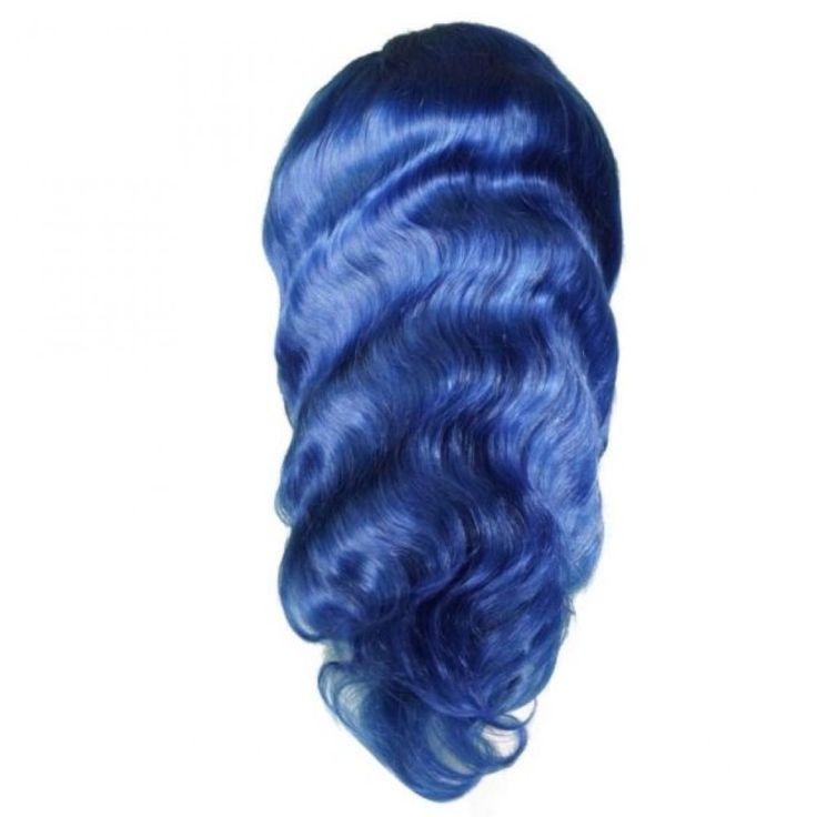 Blue Sapphire Front Lace Wig