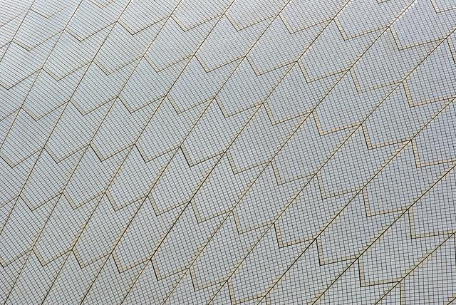 All sizes | Sydney Opera House tiles, via Flickr.