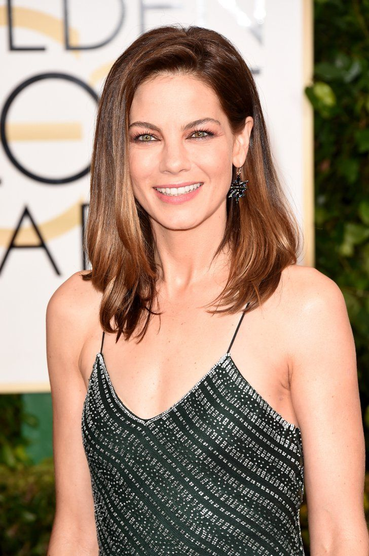 Pin for Later: Did They or Didn't They? The Best (Faux) Tans of the Red Carpet Michelle Monaghan