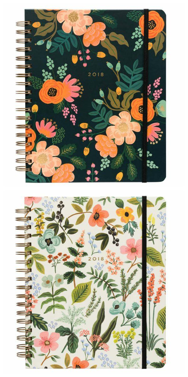 Rifle Paper Co planners are back for 2018 and prettier than ever