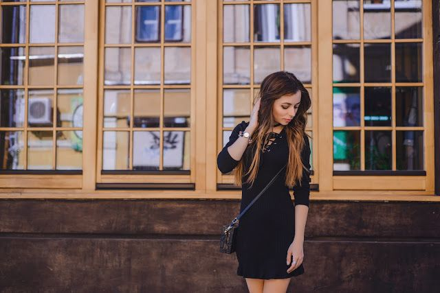 #zaradress #zara #blackdress #girl #lookbook #look #stylish #styleblogger