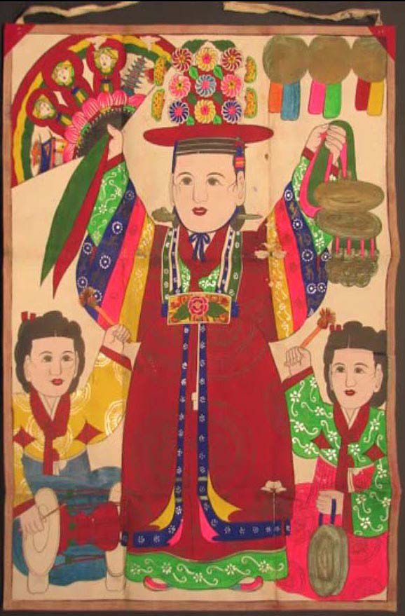 korean Folk Art   Traditional Shaman Art from Korea