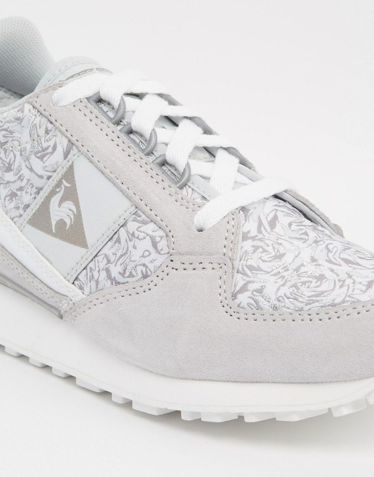 Image 4 of Le Coq Sportif Eclat Jacquard Gray Sneakers