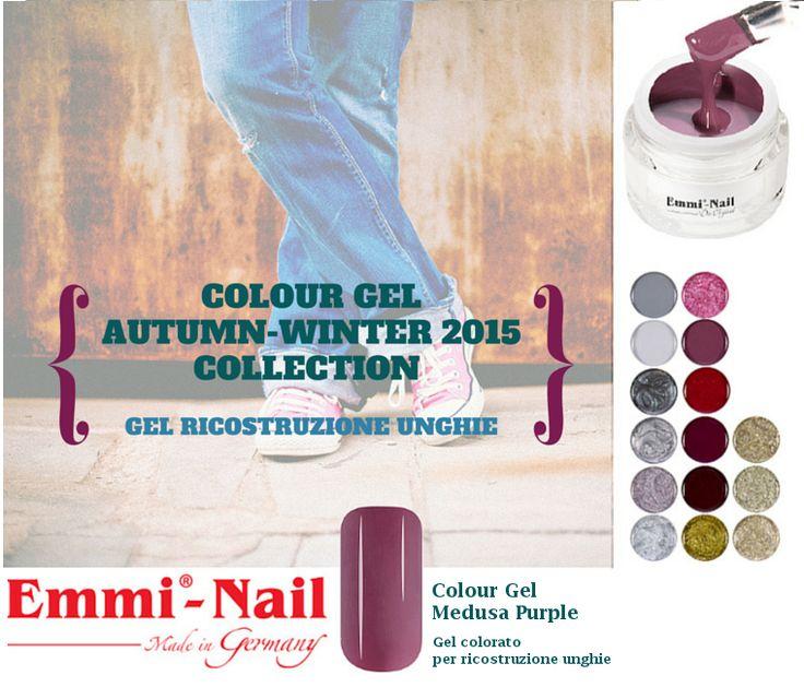 #Colour #Gel Gold per #ricostruzione unghie #nailart Collezione Autunno/Inverno 2015 #EmmiNail