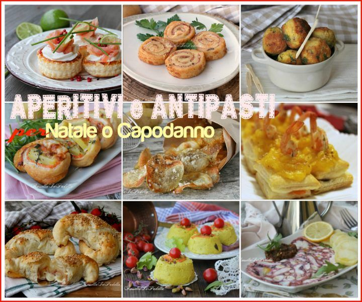 Ricette di aperitivi e antipasti per Natale e Capodanno