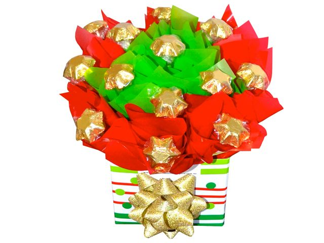 Christmas Stars Chocolate Bouquet